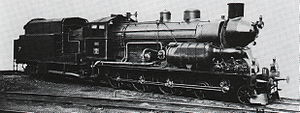 Steam turbine locomotive - SBB Nr. 1801