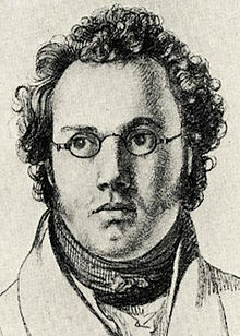 1821 Drawing of Franz Schubert by Josef Kupelwieser.jpg