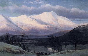 Benjamin Champney - Image: 1873 North Moat Mtn by B Champney NH Historical Society