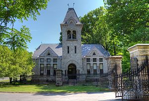 Mount Hope Cemetery (Rochester) - Gate House of Mount Hope Cemetery
