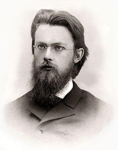 В.И.Вернадский во время стажировки в Париже, 1889