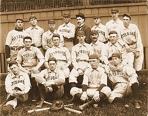 1896 Pittsburg Pirates season - The 1896 Pittsburg Pirates