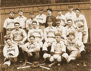 1896 Pittsburg Pirates season - The 1896 Pittsburg Pirates