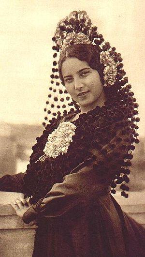 Majo - Image: 1922 spain jarez mantilla