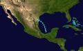 1947 Atlantic tropical storm 1 track.png