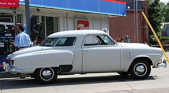 Studebaker Starlight - 1952 Champion Starlight Coupe