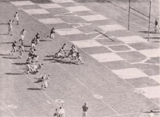 1955 Sugar Bowl - Image: 1953 Ole Miss vs. Vanderbilt