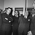 1957 Visite du ministre de l'agriculture Mr ANDRE DULIN au CNRZ-11-cliche Jean Joseph Weber.jpg