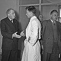 1957 Visite du ministre de l'agriculture Mr ANDRE DULIN au CNRZ-52-cliche Jean Joseph Weber.jpg