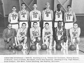 Philadelphia 76ers - The 1958–59 Syracuse Nationals