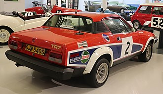 Triumph TR7 - A V8-equipped TR7 rally car at the British Motoring Heritage Museum