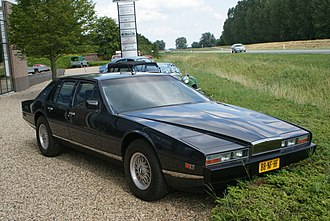 Aston Martin Lagonda - The majority of AM Lagondas were made in the series 2 and 3 body style (1976-1987)
