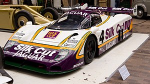 Jaguar XJR-8 - 1987 Jaguar XJR-8 at Beaulieu Motor Museum