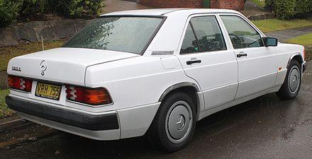 Mercedes-Benz W201 - Wikiwand