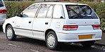 1997 Subaru Justy GX AWD 1.3 Rear.jpg