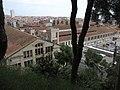 19 Fàbrica Llobet-Guri (Calella), des del Parc Dalmau.jpg