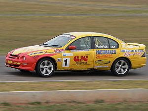 Australian Saloon Car Series - Bruce Heinrich won both Australian Saloon Car Championships in a Ford AU Falcon