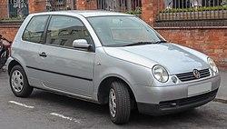 2002 Volkswagen Lupo E 1.0 Front (1).jpg
