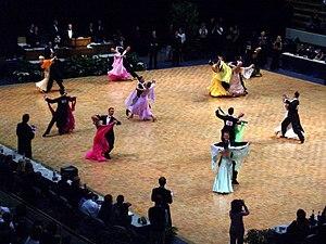 Taniec towarzyski – Wikipedia, wolna encyklopedia