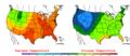 2006-05-30 Color Max-min Temperature Map NOAA.png