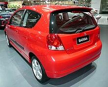 Pre Facelift Holden Barina 3 Door