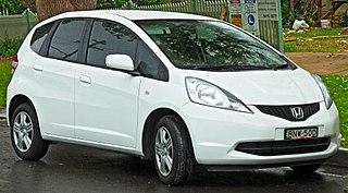Honda Fit (second generation) Motor vehicle