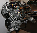 2008 Nissan VK50VE engine front.jpg