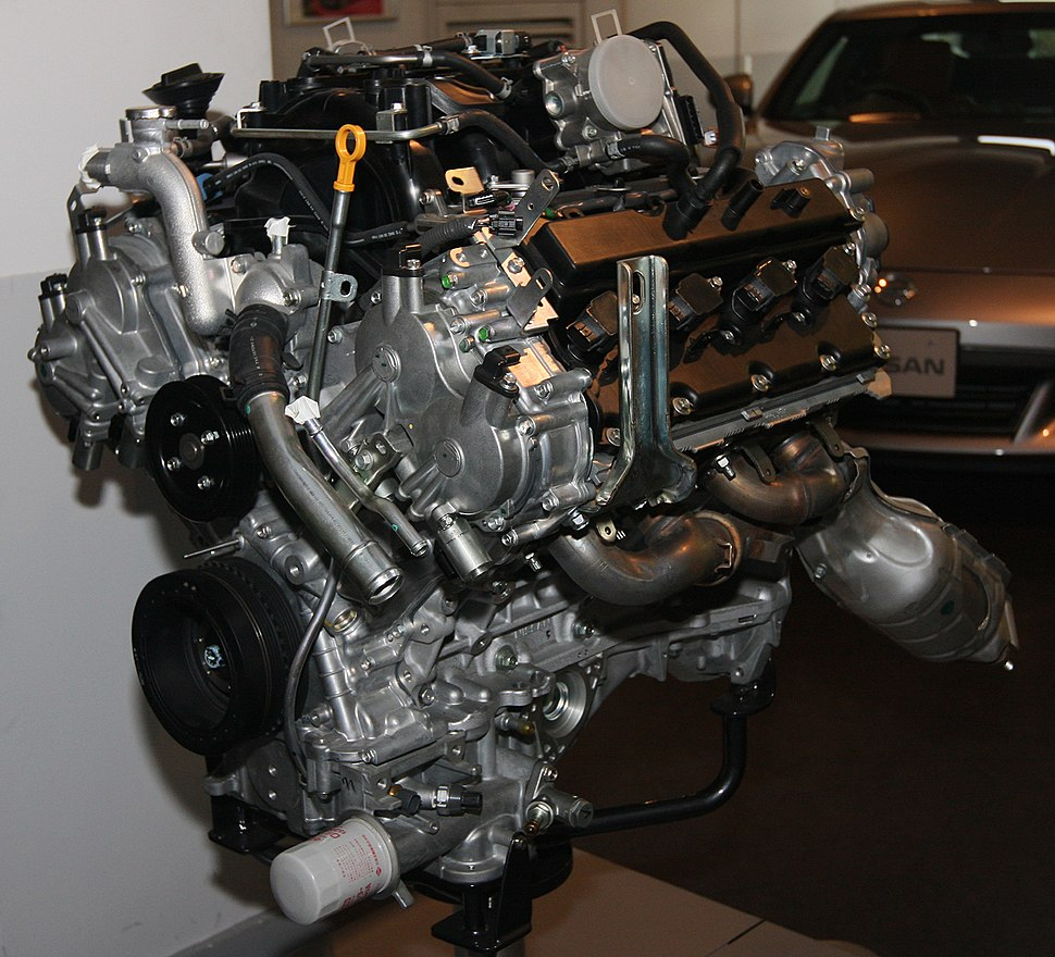 2008 Nissan VK50VE engine front