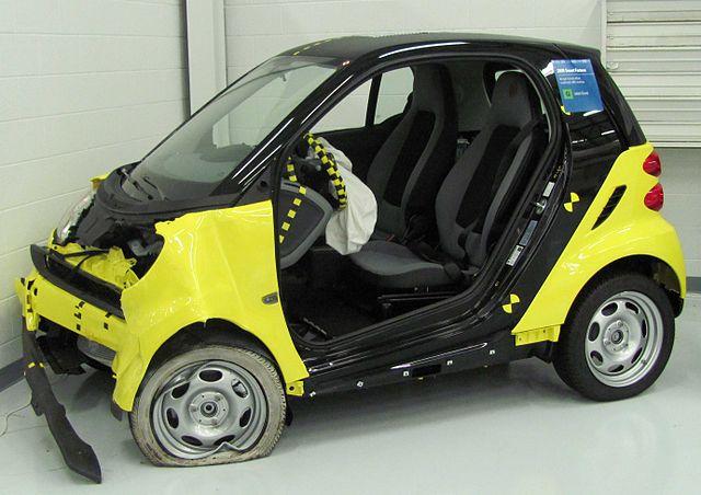 Smart Car Crash Test Top Gear