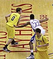 20091219 Zack Novak of Michigan Wolverines Basketball against Kansas.jpg