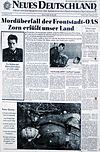 Image of newspaper story about Peter Göring