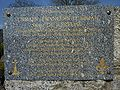 2010. Huelgoat. Plaque commémorative Jack Kerouac.JPG