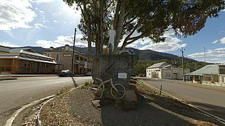 Melrose, South Australia - Melrose Township with Mount Remarkable in background