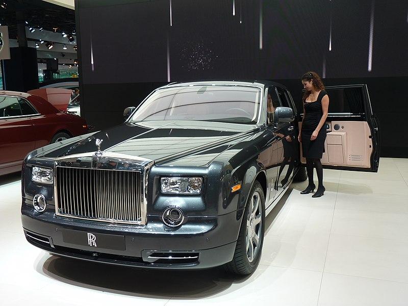 The all new Rolls Royce Phantom EWB