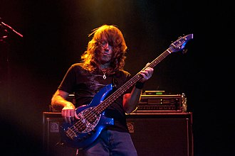 Dave LaRue - Dave playing with Flying Colors, 013, Tilburg (sept. 20., 2012)
