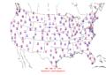 2013-05-11 Max-min Temperature Map NOAA.png