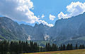 2013-08-17 View From the alp at Lago di Fusine superiore to the Peaks of julian alps -hu- B 4585.jpg