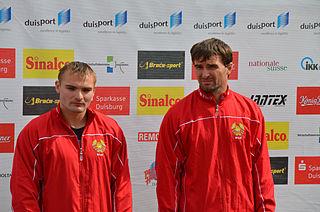 Dzmitry Rabchanka Belarusian sprint canoeist