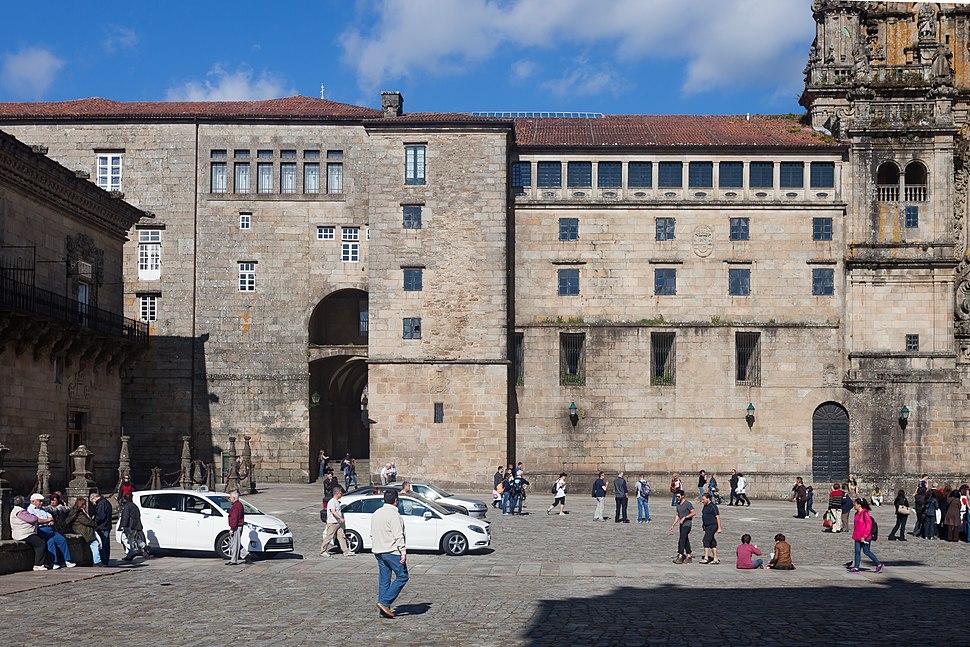 2013. Pazo de Xelmírez. Praza do Obradoiro. Santiago de Compostela