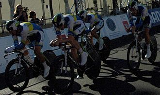 2013 UCI Road World Championships – Men's team time trial - Image: 2013 UCI Road World Championships – Orica Greenedge