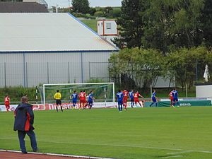 2014–15 Luxembourg National Division - Picture of the CS Grevenmacher-FC Differdange 03 match, 17 August 2014