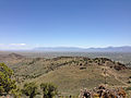 "2014-06-13 12 21 12 View east from the summit of ""E"" Mountain in the Elko Hills of Nevada.JPG"