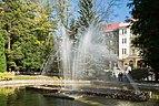 2014 Polanica-Zdrój, fontanna w parku zdrojowym 04.jpg
