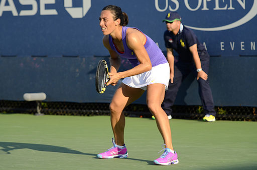 2014 US Open (Tennis) - Tournament - Francesca Schiavone (14927348519)