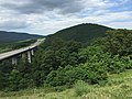 2016-07-08 16 12 21 View east along U.S. Route 48 and West Virginia State Route 55 (Corridor H) as it crosses Clifford Hollow in Hardy County, West Virginia.jpg
