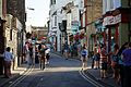 2016 Broadstairs Folk Week holidaymakers Albion Street Broadstairs Kent England.jpg