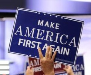 "2016 Republican National Convention - The theme of Wednesday night was ""Make America First Again"""