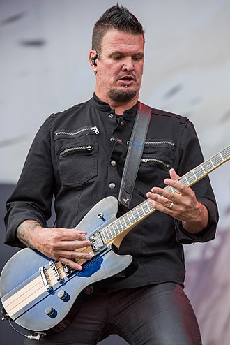 Dan Donegan - Donegan performing with Disturbed at the 2016 Rock im Park
