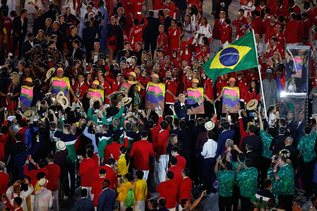 anthem of the olympic games Ολ�μ�ιακ�� �μνο� rio