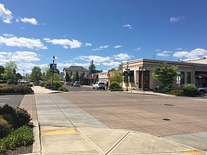 Canby, Oregon - Shops in downtown Canby